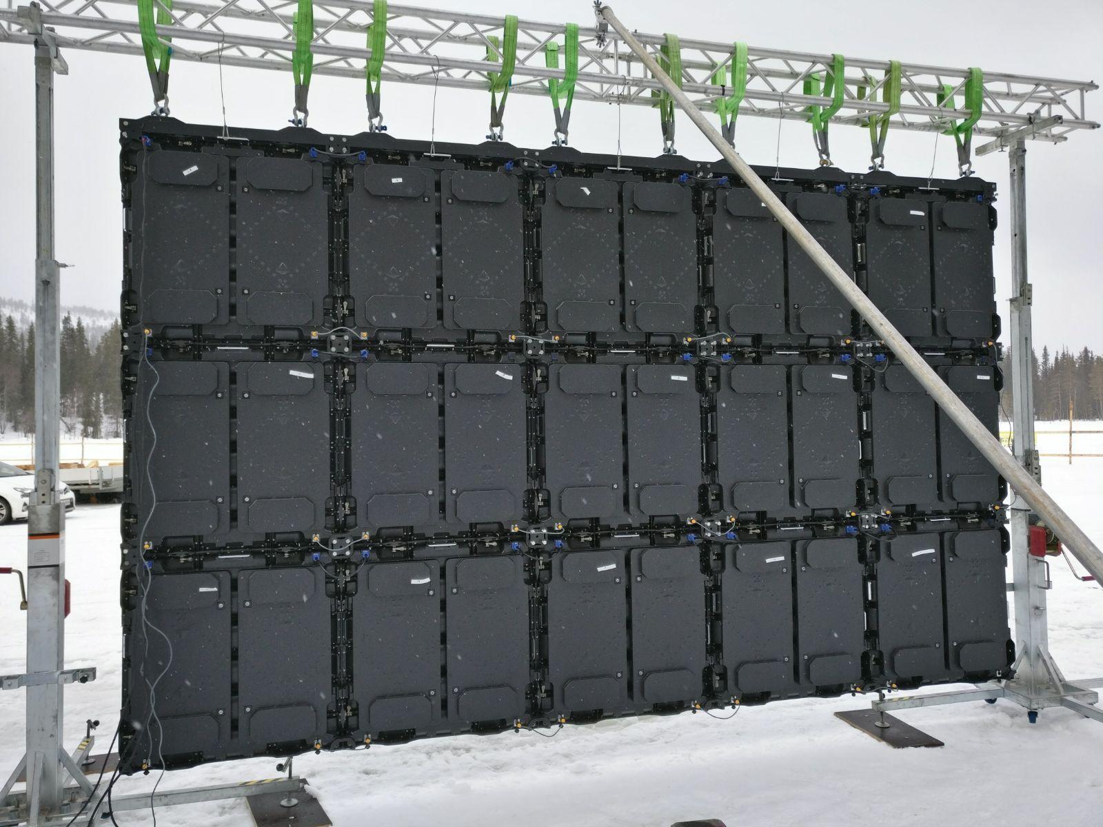 幕墙LED透明屏幕哪些公司在做